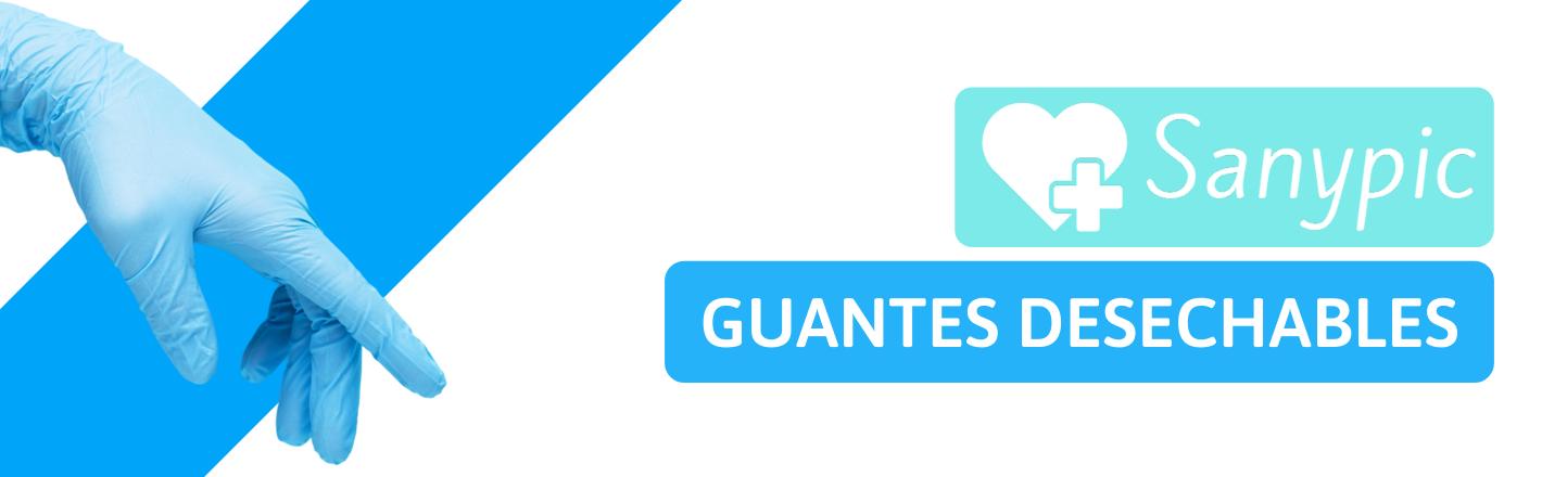 Banner Portada Sanypic Guantes Desechables